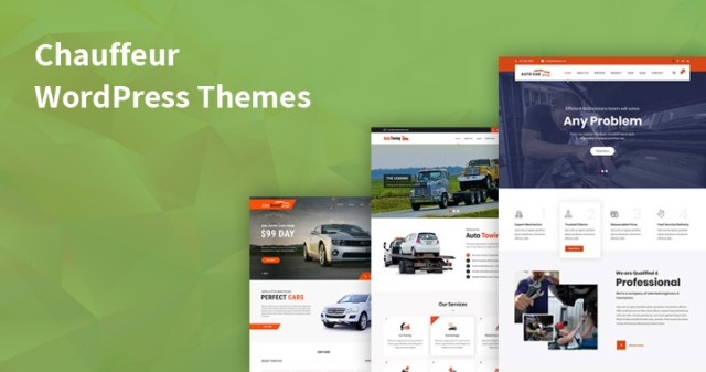 chauffeur WordPress themes