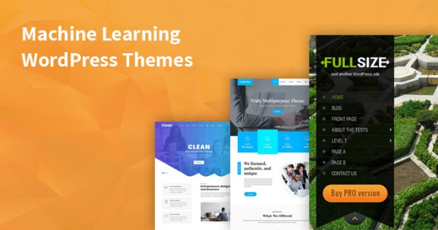 machine learning WordPress Themes