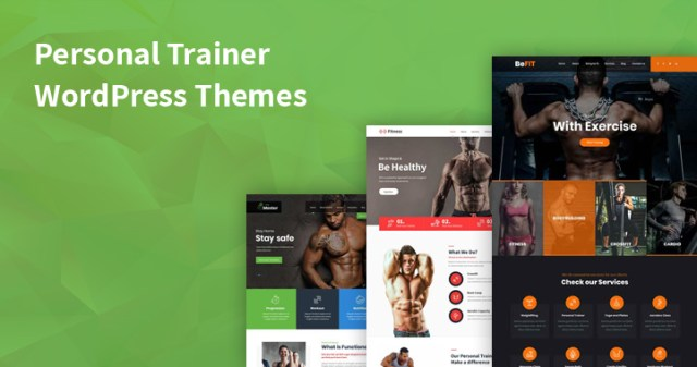 personal trainer WordPress themes