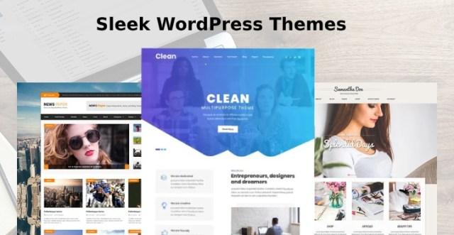 Sleek WordPress Themes