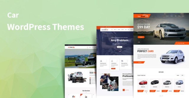 car WordPress themes
