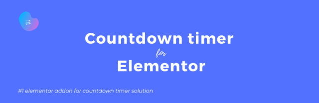 Countdown Timer for Elementor