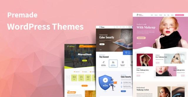 premade WordPress themes