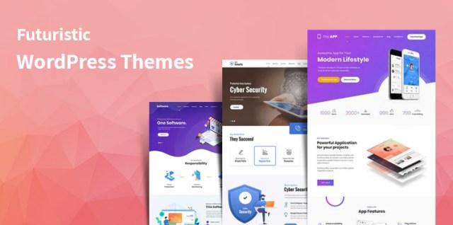 Futuristic WordPress themes