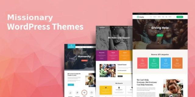 Missionary WordPress Themes