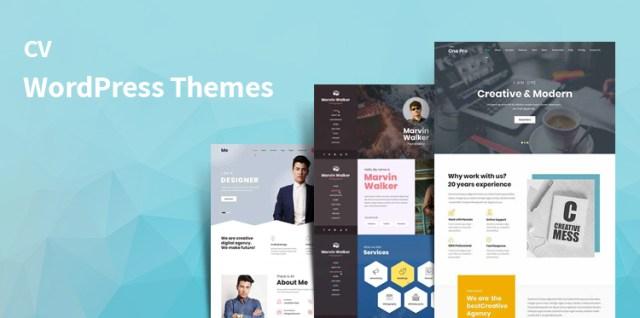 cv WordPress themes