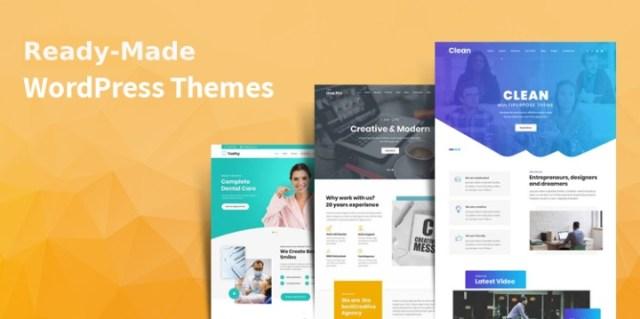ready-made WordPress Themes
