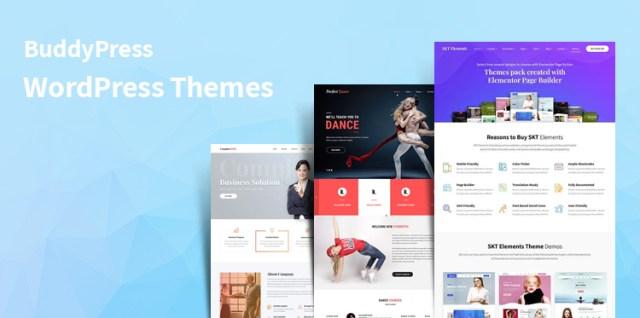 BuddyPress WordPress themes