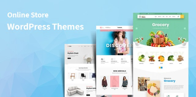 Online Store WordPress themes