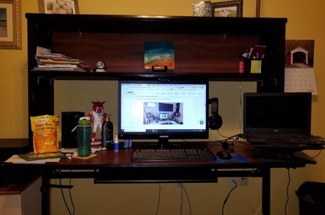 Todd Jones workstation