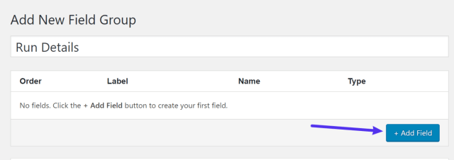 Add fields to your group