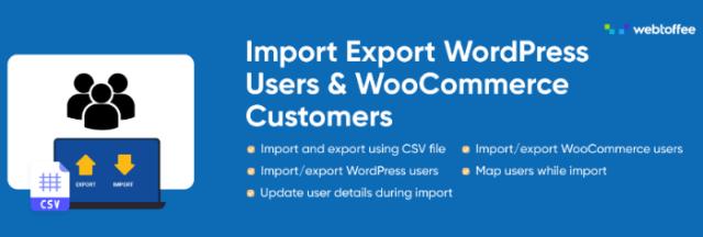 Import Export WordPress Users Plugin