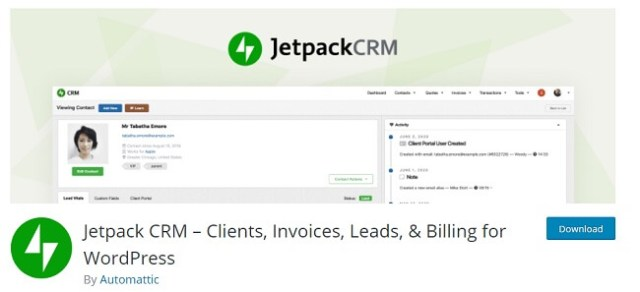 Jetpack CRM