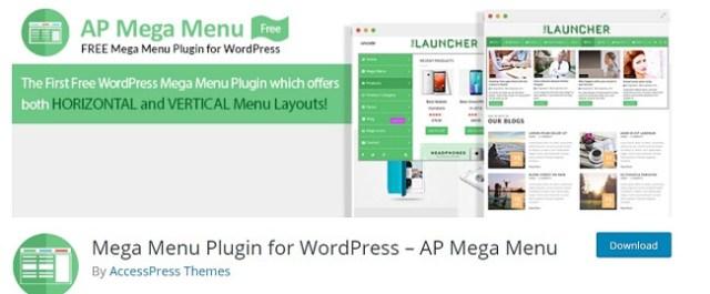 MegaMenu by AccessPress
