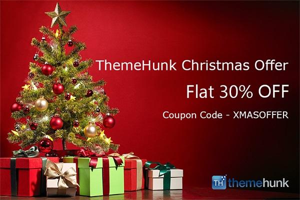 themehunk christmas offer