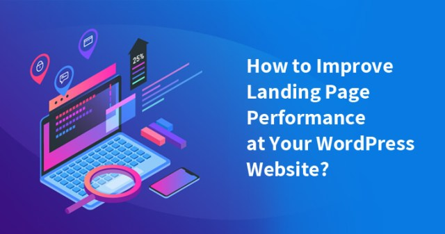 improve landing page performance