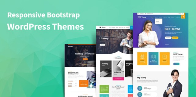 Responsive Bootstrap WordPress Themes