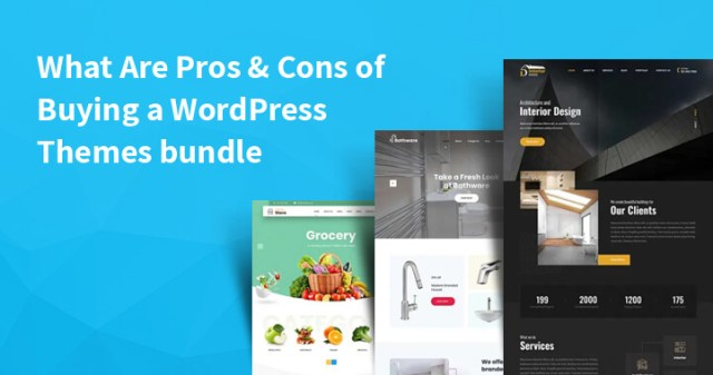 Buying a WordPress Themes bundle