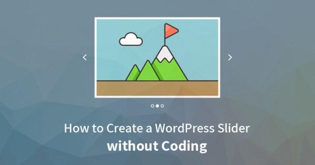 WordPress Slider without Coding