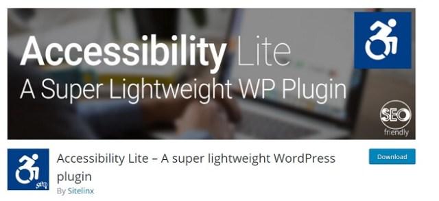Accessibility lite