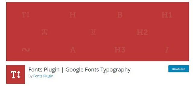 Fonts plugins