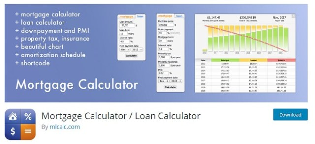 Mortgage Calculator / Loan Calculator