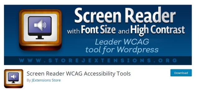 Screen Reader accessibility tool