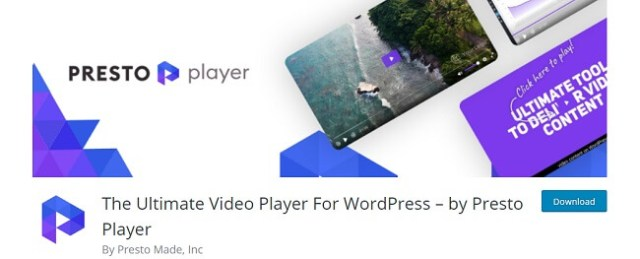 The Ultimate Video Player For WordPress