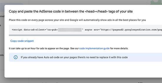 copy paste code