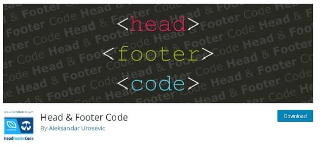 header and footer code by aleksandar