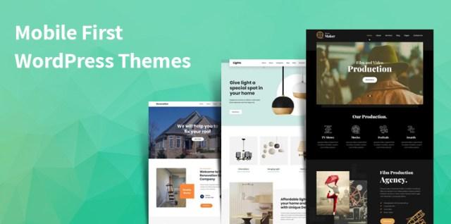 Best mobile ready WordPress themes