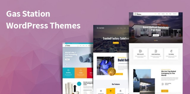 Gas Station WordPress Themes