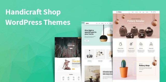 handicraft shop WordPress themes