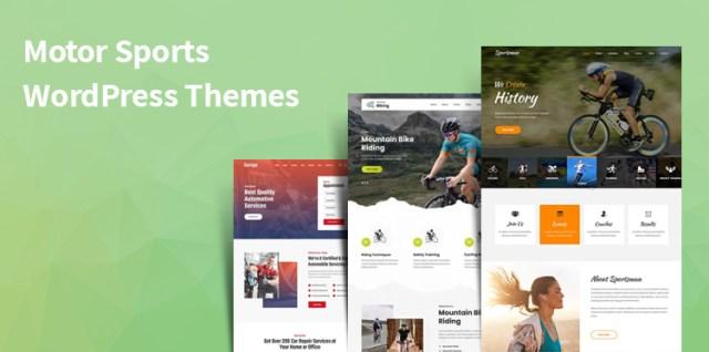 motor sports WordPress themes