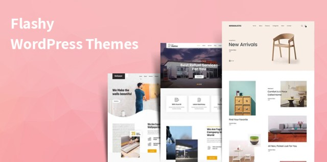 flashy WordPress themes