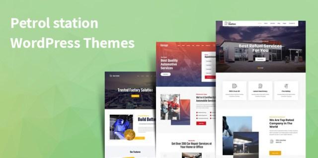 Petrol station WordPress Themes