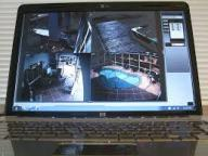 security camera footage
