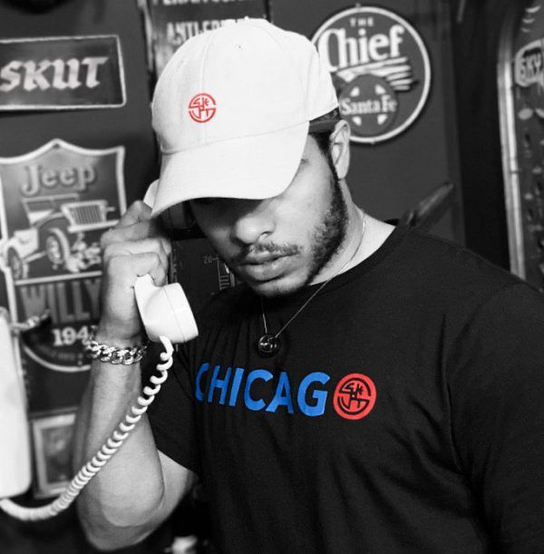 Jarvis Ware in SKUT x The Windy City Tee in Black