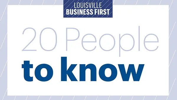 louisville business first 20 people to know logo