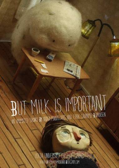 """""""but milk is important"""" Poster"""