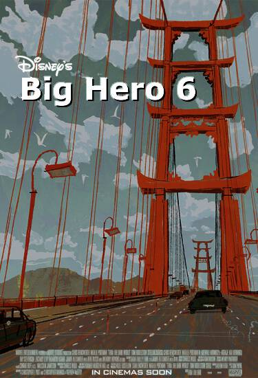 Big Hero Six Poster Disney