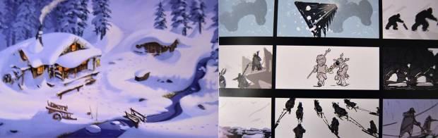 The Art of Frozen 3
