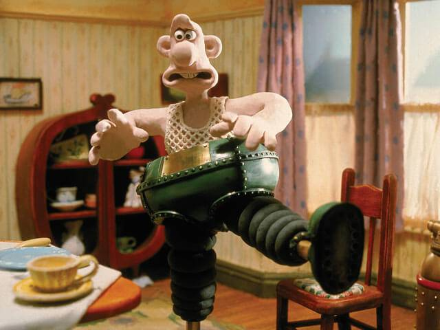 wallace and gromit wrong trousers
