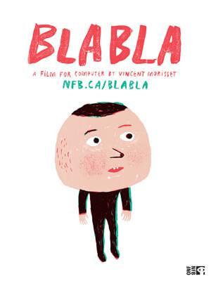 """Vincent Morriset's interactive NFB hit """"Bla Bla"""""""