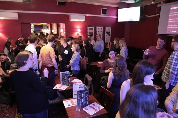 One of the best ways to build relationships is through networking. In this photo, Festivus in London, is a regular event where animators get together to drink, chat and swap cards