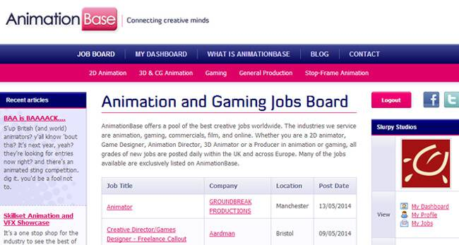 How To Find A Job In The Animation Industry Tips For - Game designer jobs uk