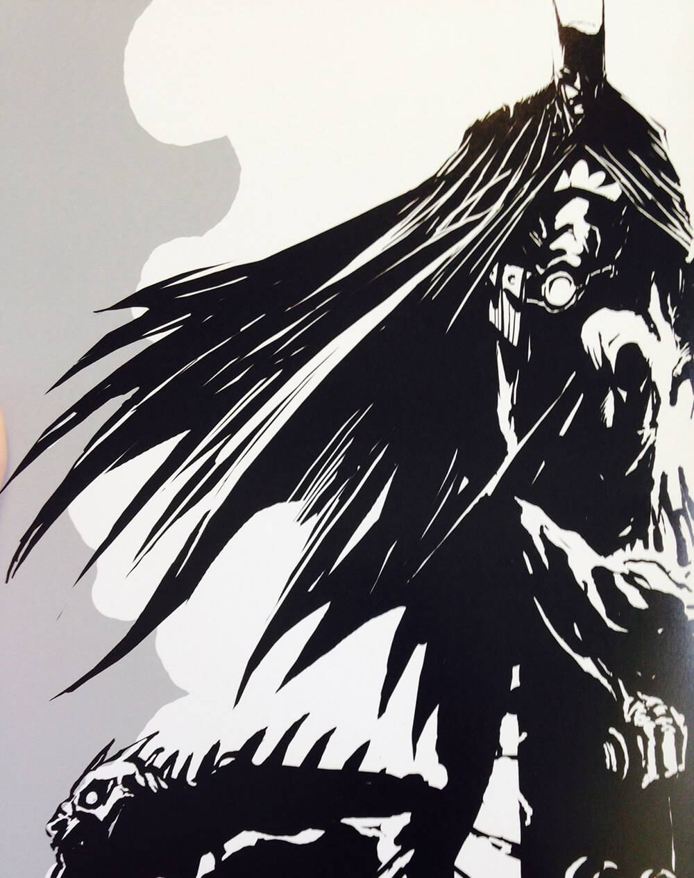 concept sketch of the batman