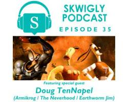 Skwigly Animation Podcast #35 – Doug TenNapel
