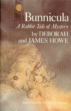 The first Bunnicula book A Rabbit-Tale of Mystery by Deborah and James Howe