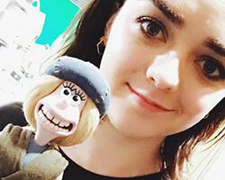 Maisie Williams joins the cast of Aardman's Early Man